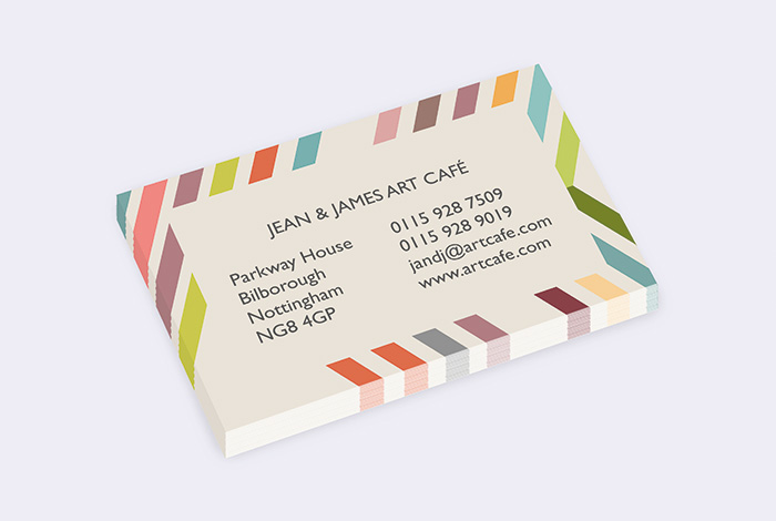 Standard Single Sided Business Card