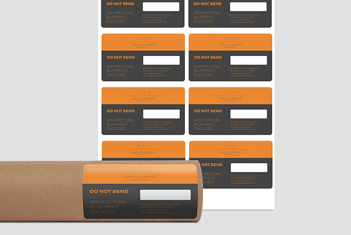 Paper Labels Rectangle 99.1 x 57mm Gloss Finish