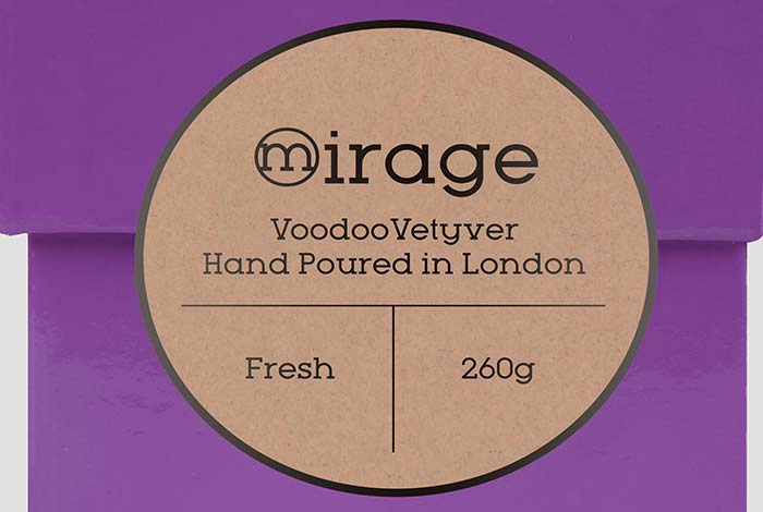 Brown Kraft Paper Labels Round 57mm Matt Finish