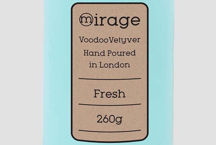 Brown Kraft Paper Labels Rectangle 63.5 x 46.6mm Matt Finish