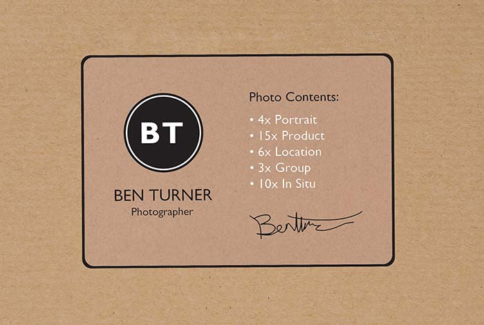 Brown Kraft Paper Labels Rectangle 99.1 x 67.7mm Matt Finish