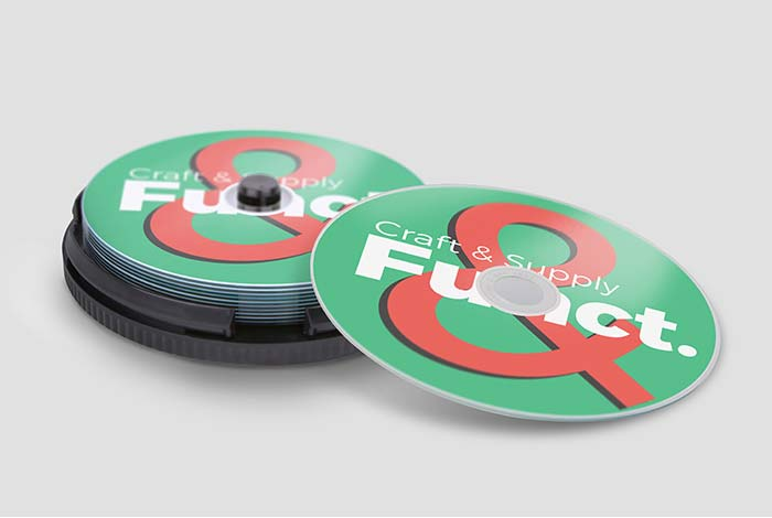 Printed Recordable DVD