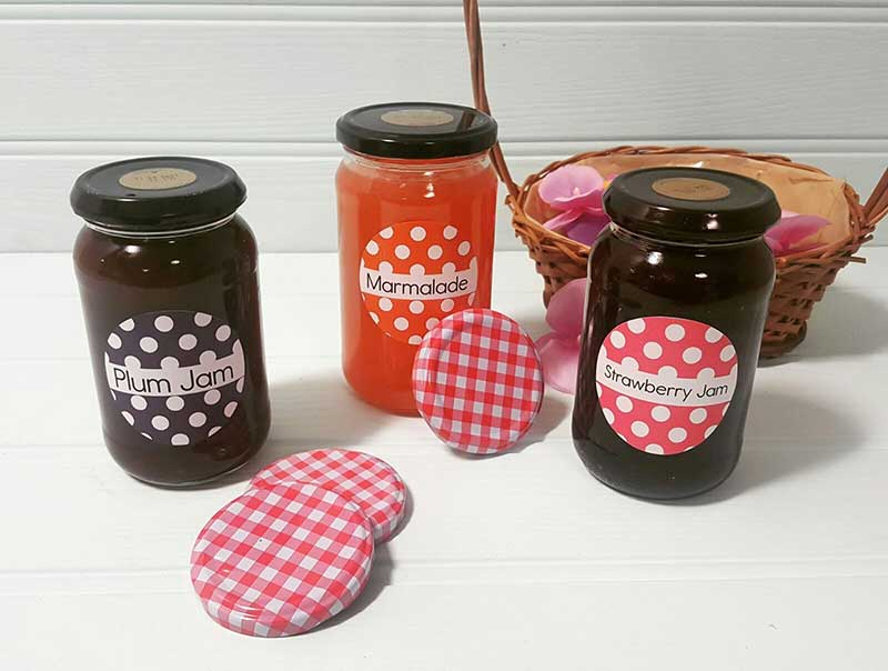 Labelling solutions for jam makers