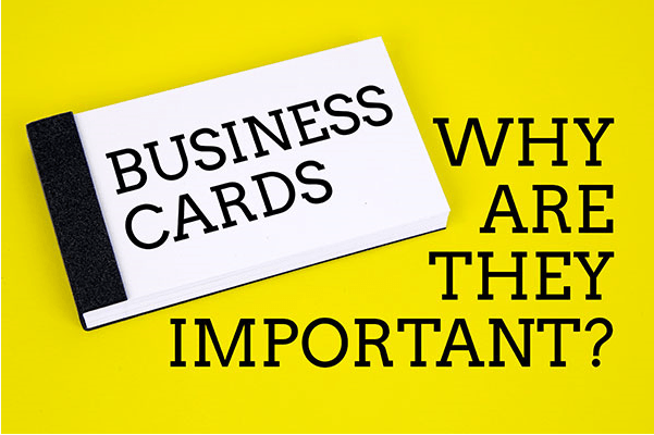 Why business cards still matter...
