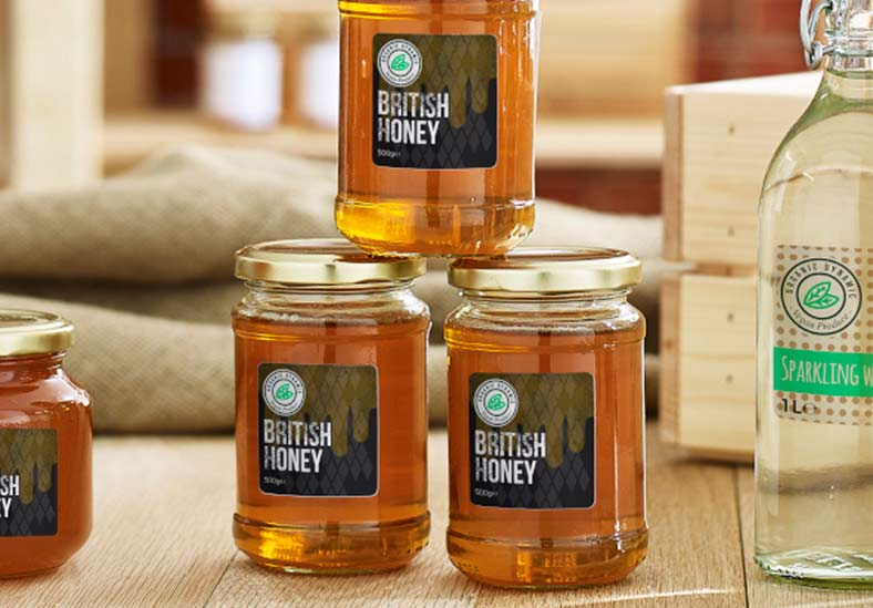 ​Labelling for honey jars
