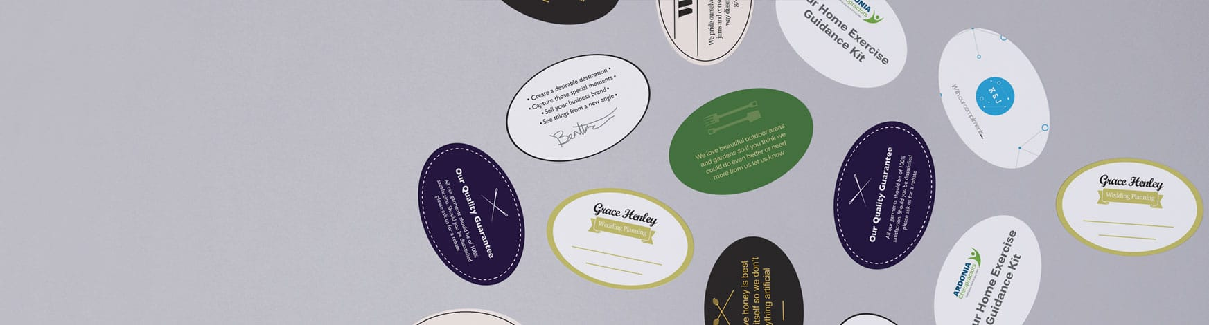 Avery WePrint Personalised Oval Labels