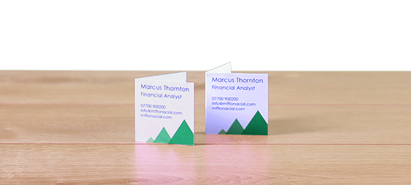 Avery WePrint Square Folded Business Cards