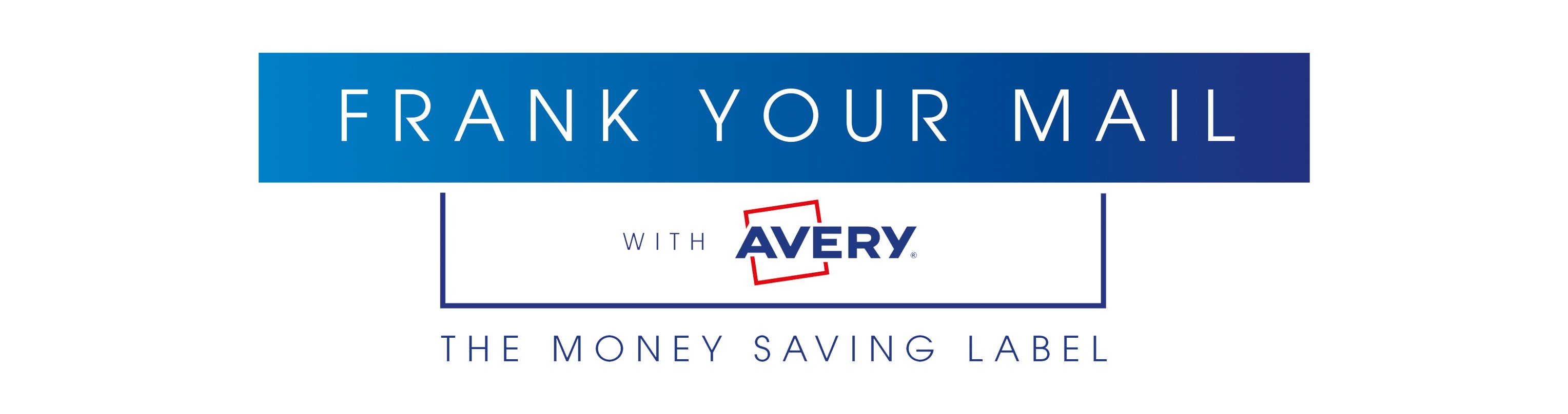 Frank your mail with Avery Franking Labels