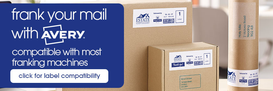 franking labels compatibility