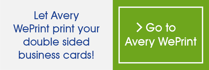 Double sided business cards avery thumbnail colourmoves