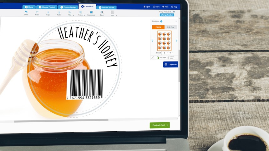Create barcodes for free using Avery Design&Print | Avery