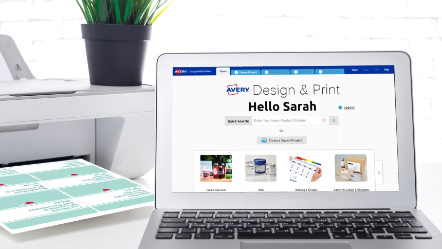 Avery Design & Print Template Software
