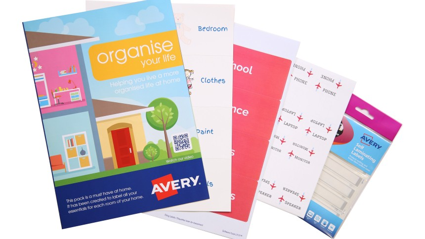 Organise Your Life Avery