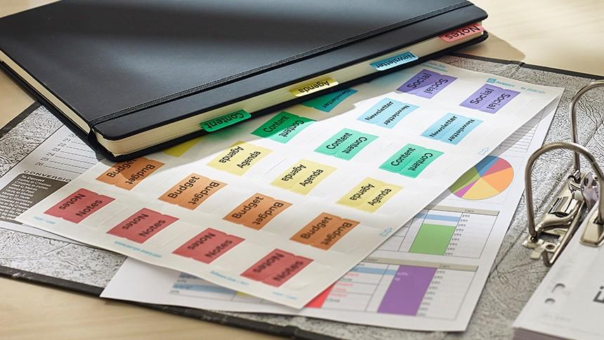 Printable Filing Tabs Avery