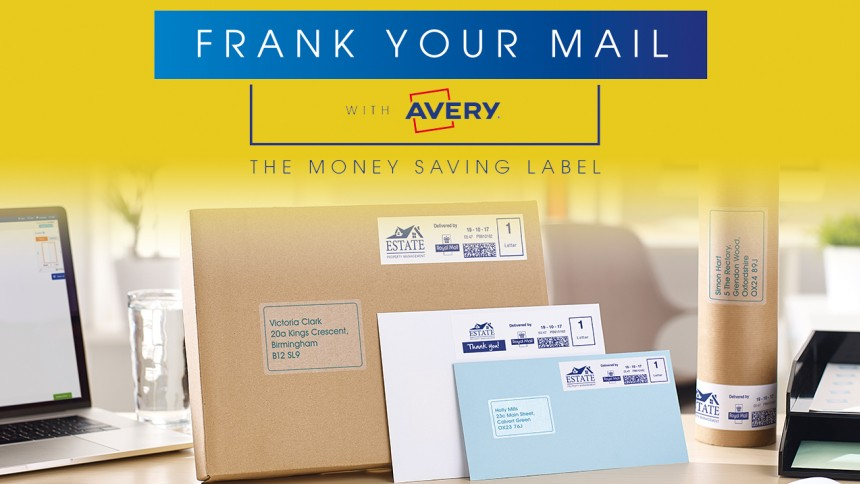 Avery franking labels