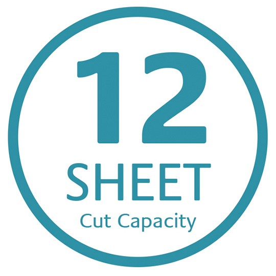 12 sheet cut capacity