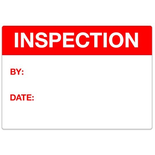 Avery Industrial Template Design - Inspection