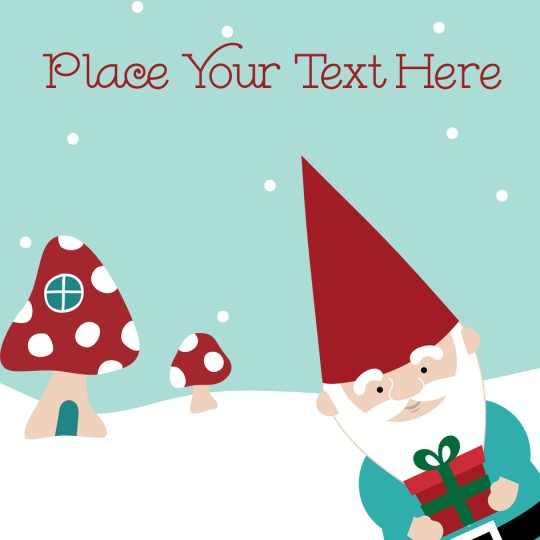 Free template for christmas mailing labels