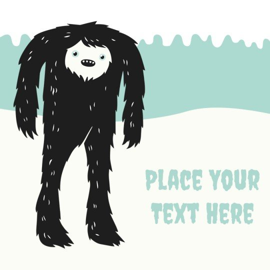 Yeti Avery Template designs for Christmas