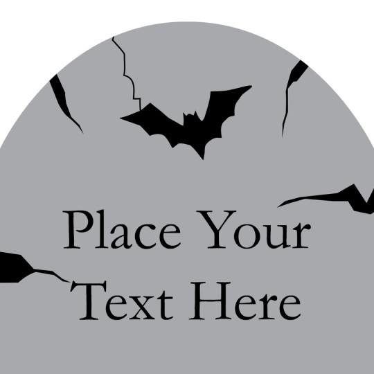 Avery Gravestone Halloween Template Design
