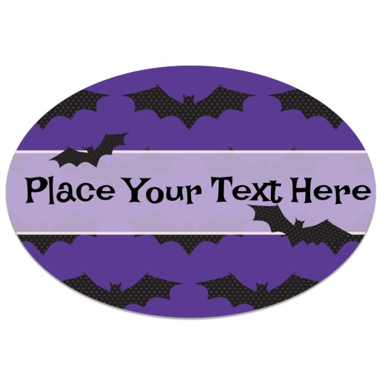 Avery Batty Halloween Template Design