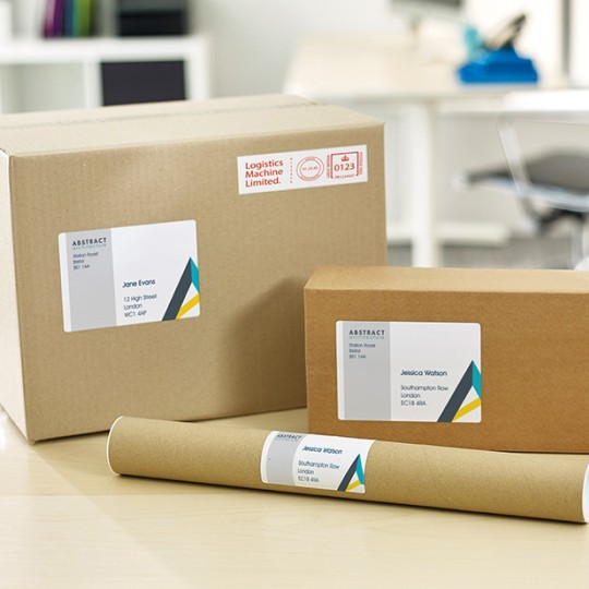 Avery address label design template for envelopes and parcels