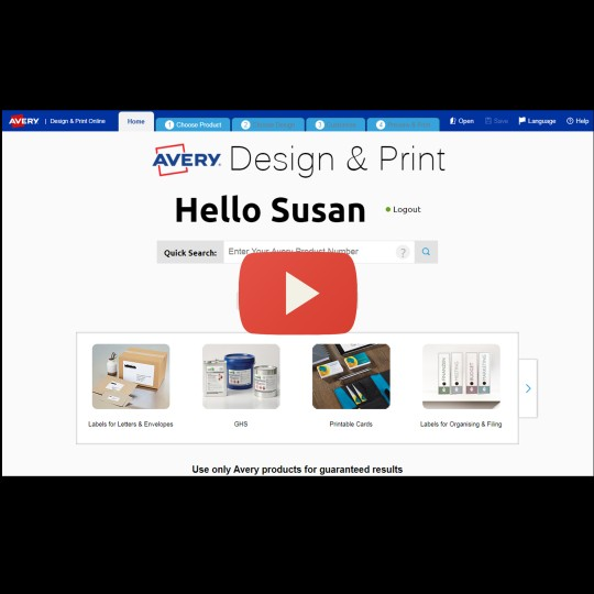 Avery Software Overview | Avery