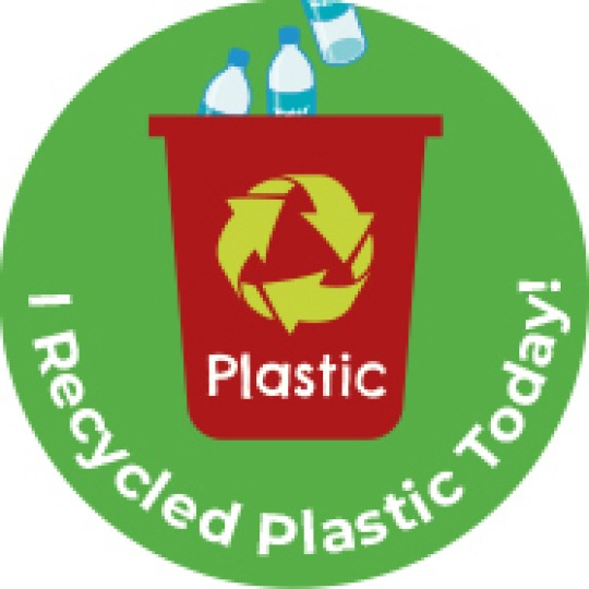i recycled plastic