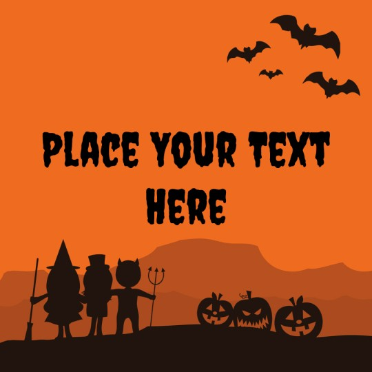 Avery Halloween Trick n Treat Template Design