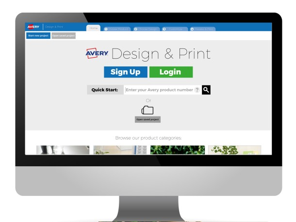 Avery design print online account avery for Design and print avery