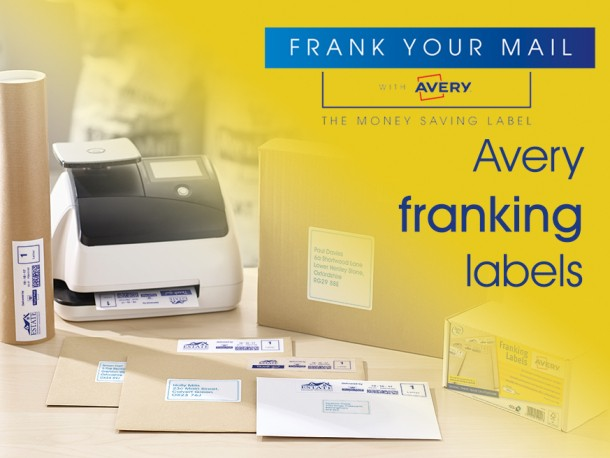 Get frank about mail with Avery Franking Labels