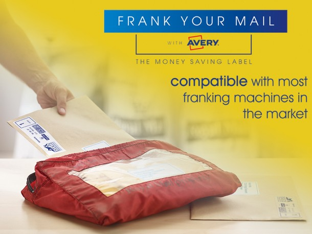 Find out which Avery franking labels are compatible with your franking machine