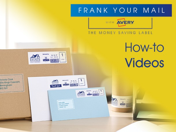 Avery how to franking videos