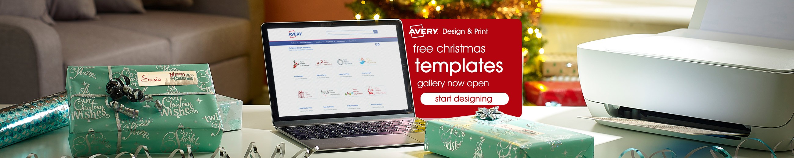 Our FREE Christmas template gallery is now open