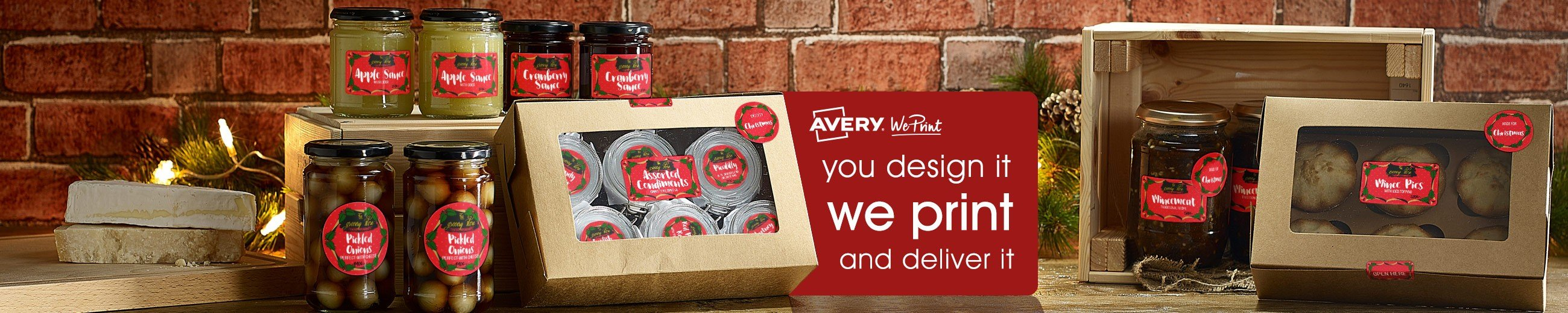 you design it, we print! Avery WePrint