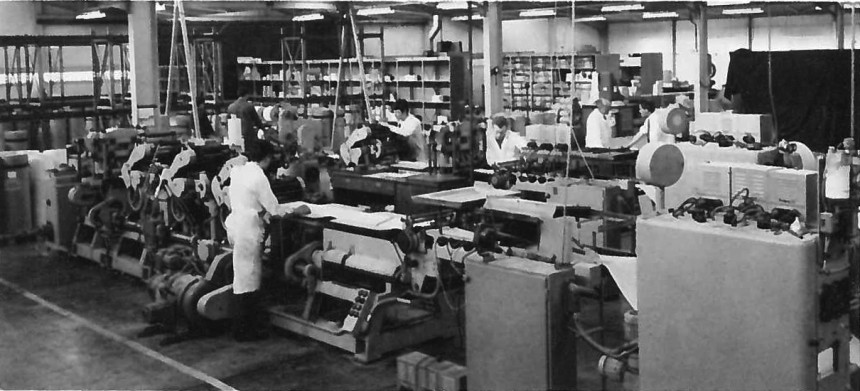 Avery Cumbernauld Plant 1964