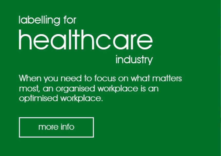 Labelling for Healthcare Industry