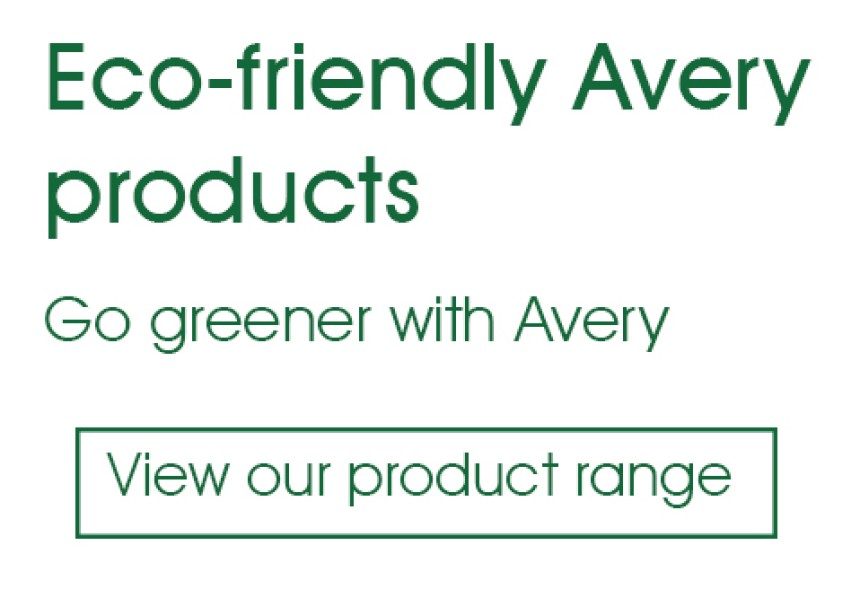 Avery Eco-friendly Products