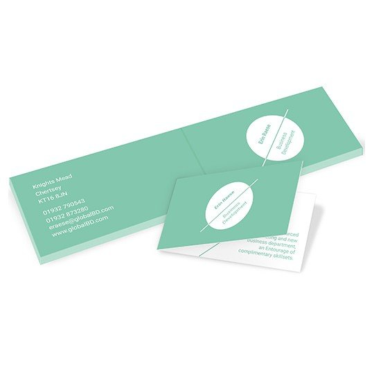 Weprint folded business cards avery productswpfolded business cardsimage 2 reheart