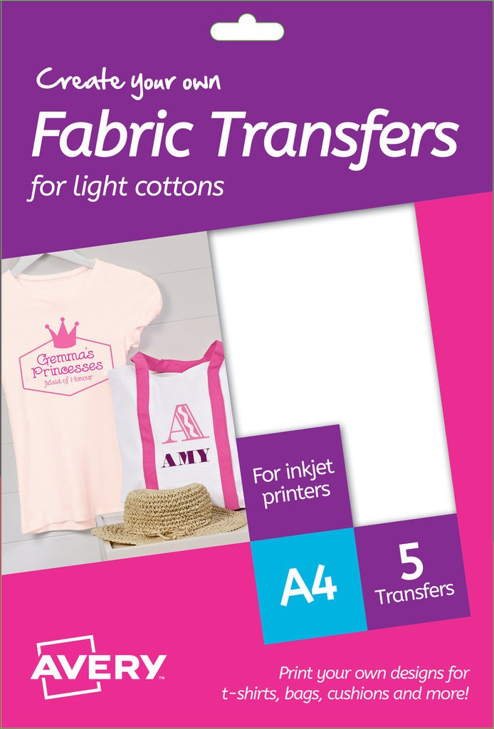 Fabric Transfers Md1001 Avery