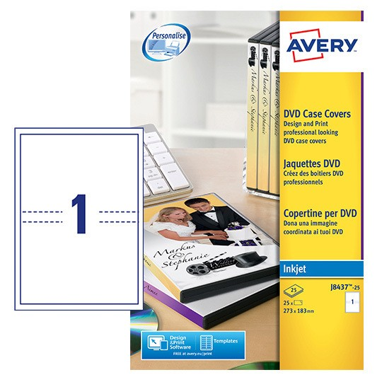 Dvd case inserts j8437 25 avery for Avery dvd case template
