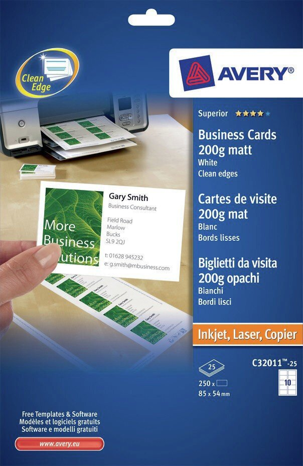 Business Cards | C32011-25 | Avery