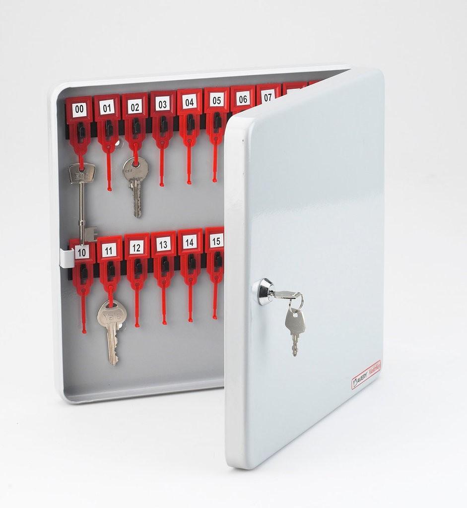 Key Cabinet - Metal MK20LGRY Avery