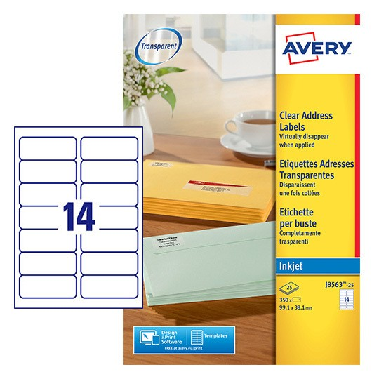 Address Labels | J8563-10 | Avery
