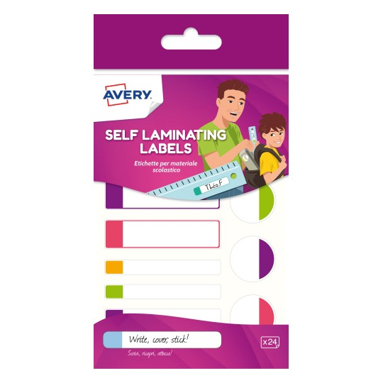 Avery Self-Laminating Labels
