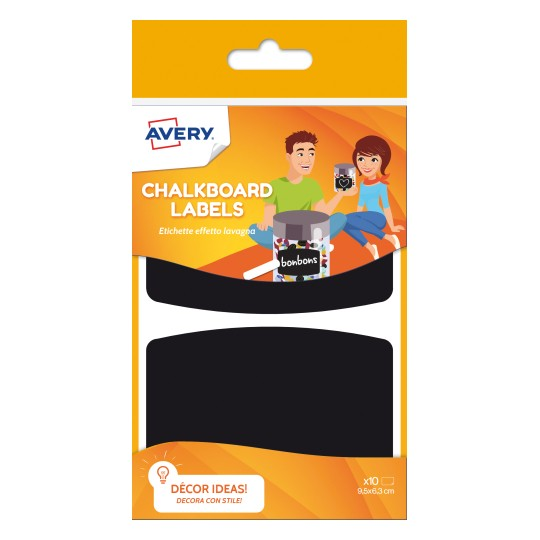 Avery Chalkboard Labels