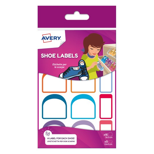 Avery Shoe Labels