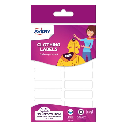 Avery Clothing Labels