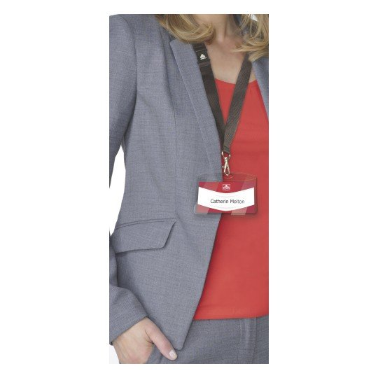 Avery 4825 Badge Holders with lanyards