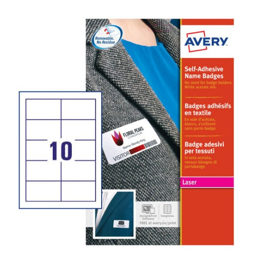 name badge inserts l7418 25 avery